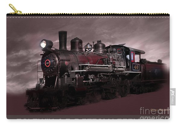 Baldwin 4-6-0 Steam Locomotive Carry-all Pouch