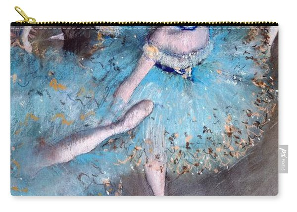 Ballerina On Pointe  Carry-all Pouch
