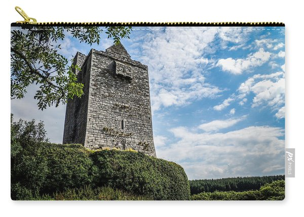 Ballinalacken Castle In Ireland's County Clare Carry-all Pouch