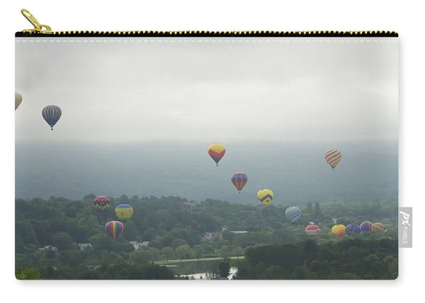 Balloon Rise Over Quechee Vermont Carry-all Pouch