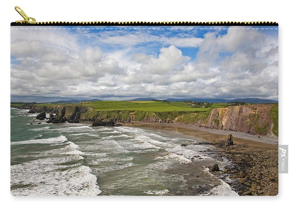 Ballydowane Cove On The Copper Coast Carry-all Pouch