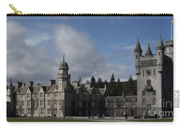 Balmoral Castle In A Closeup Panorama Carry-all Pouch