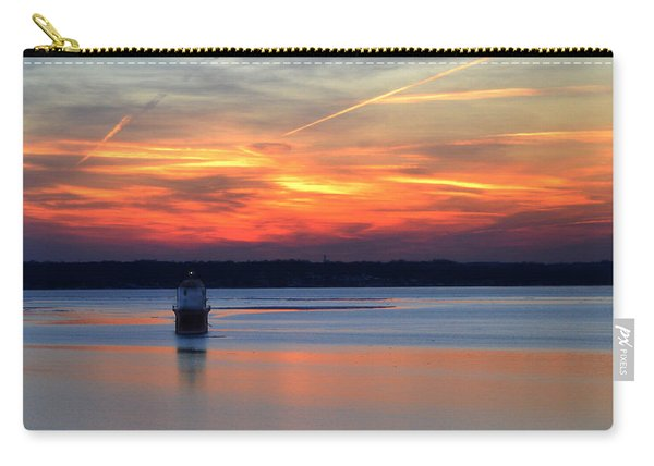 Baltimore Light At Gibson Island Carry-all Pouch