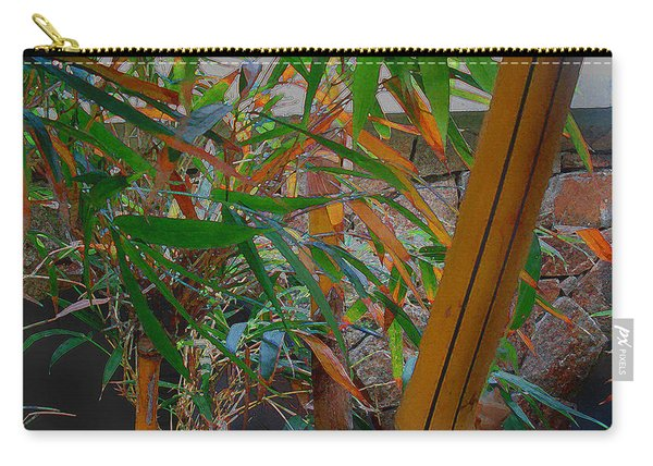 Bamboo Garden Carry-all Pouch