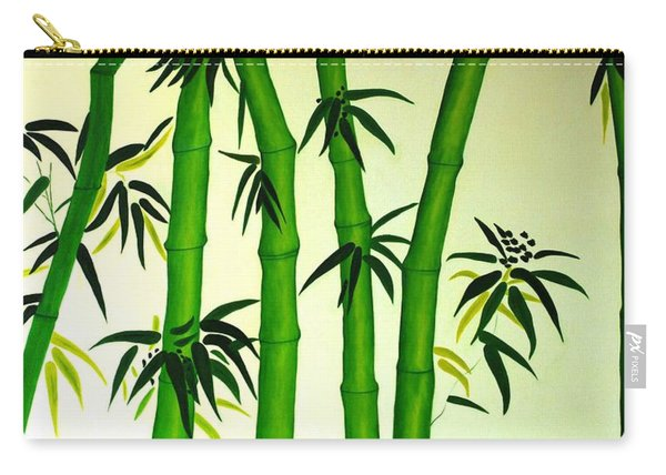 Bamboos Carry-all Pouch