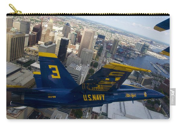 Banking Above Baltimore Carry-all Pouch