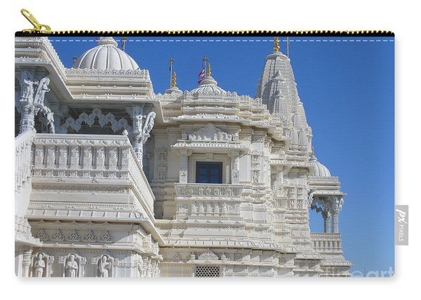 Baps Marble Mandir In Toronto Carry-all Pouch