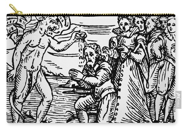 Baptism By The Devil Carry-all Pouch