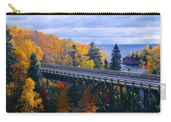 Baptism River Into Lake Superior Carry-all Pouch