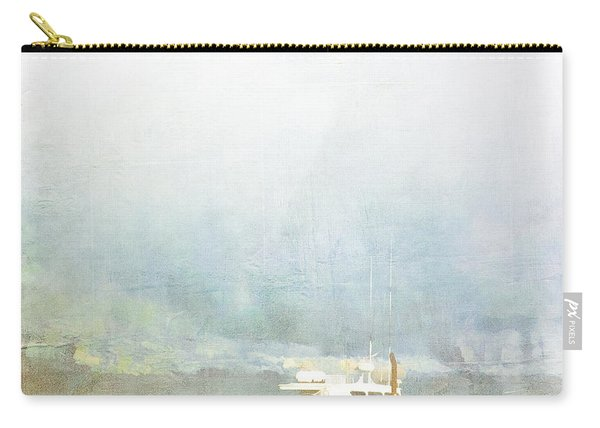 Bar Harbor Maine Foggy Morning Carry-all Pouch