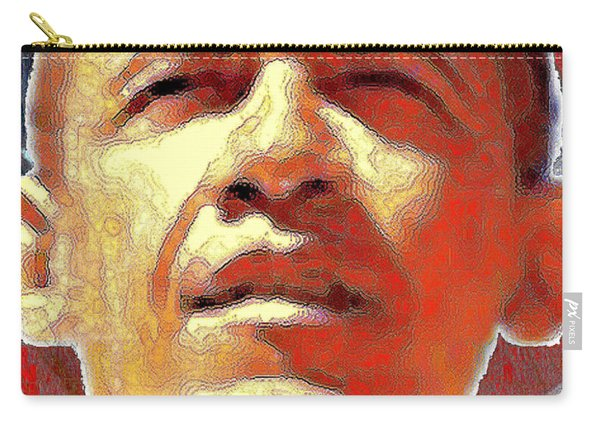 Barack Obama Portrait - American President 2008-2016 Carry-all Pouch