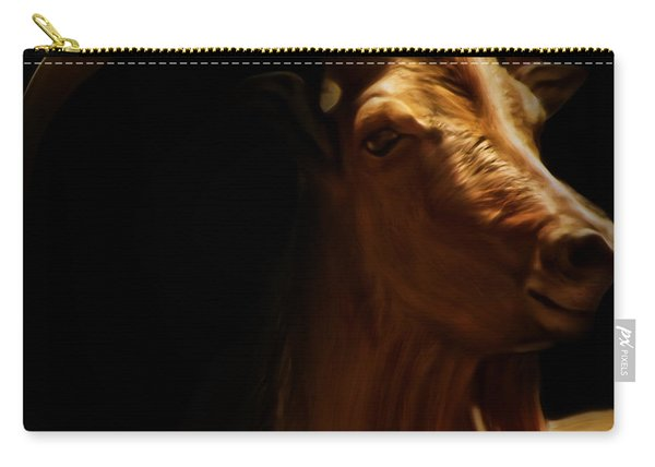 Barbary Sheep Portrait Carry-all Pouch