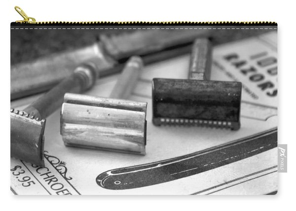 Barber Shop 20 Bw Carry-all Pouch