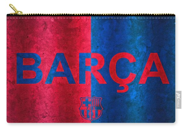Barcelona Football Club Poster Carry-all Pouch