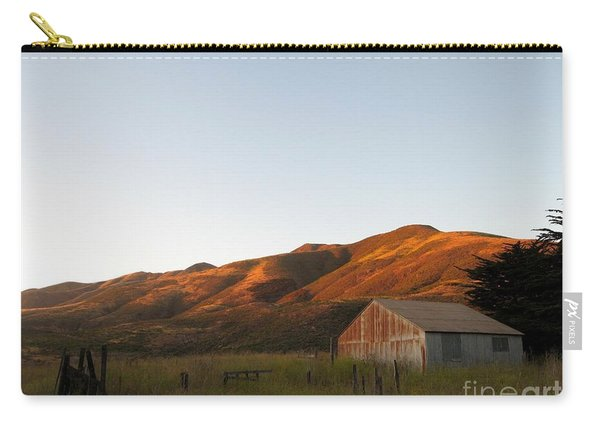 Barn At Garrapata State Park Carry-all Pouch