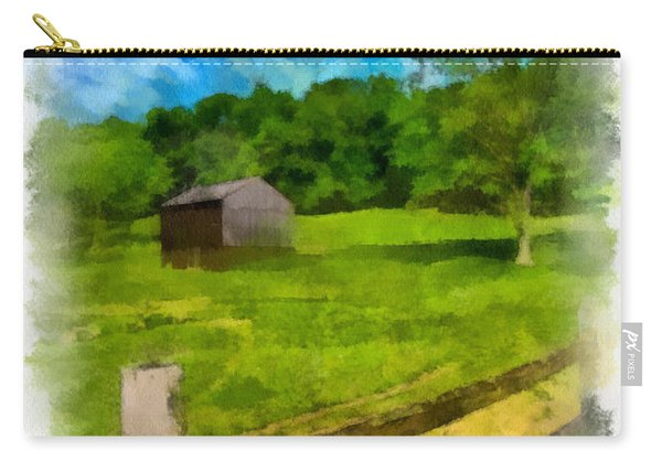 Barn At Hartwood Acres Carry-all Pouch