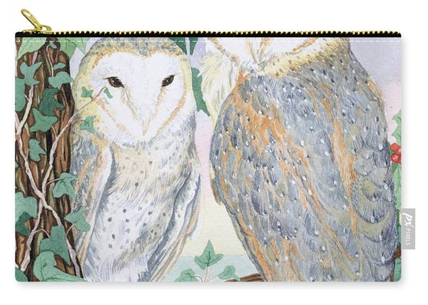 Barn Owls Carry-all Pouch
