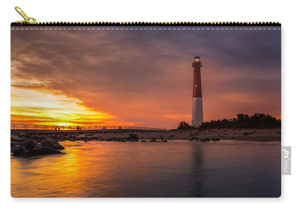 Barnegat Sunset Light Carry-all Pouch
