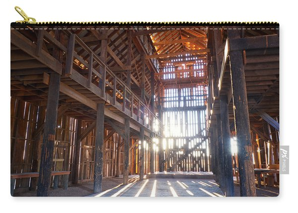 Carry-all Pouch featuring the photograph Barnwood Cathedral by Mary Lee Dereske