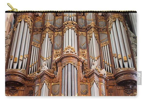 Baroque Grand Organ In Oude Kerk In Amsterdam Carry-all Pouch