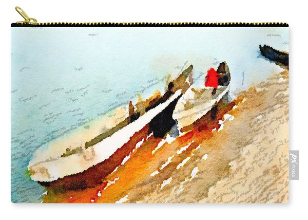 Barques Sur Le Chari Carry-all Pouch