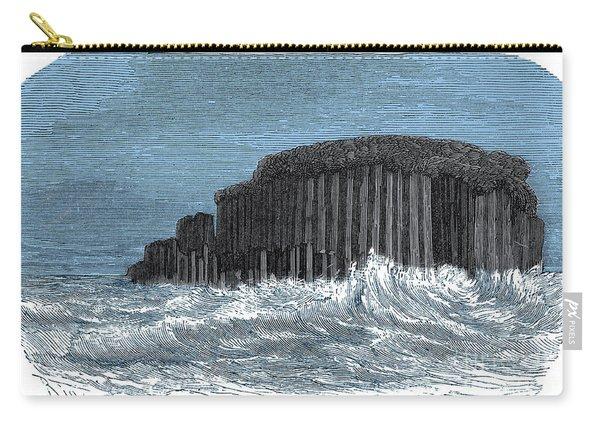Basaltic Grotto Of Staffa Carry-all Pouch