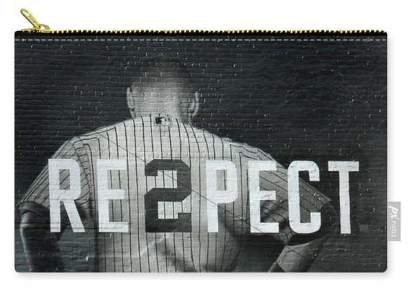 Baseball With Jeter Carry-all Pouch