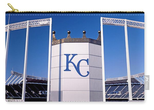 Baseball Stadium, Kauffman Stadium Carry-all Pouch