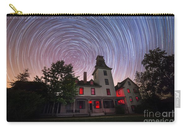 Batsto Mansion Star Trails Carry-all Pouch