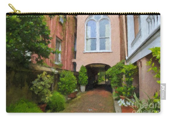 Battery Carriage House Inn Alley Carry-all Pouch
