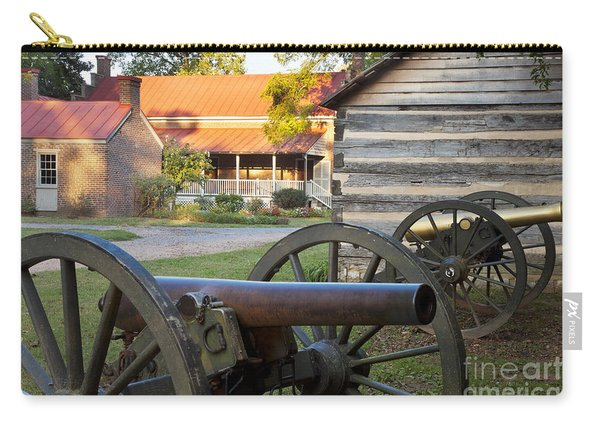 Carry-all Pouch featuring the photograph Battle Of Franklin by Brian Jannsen