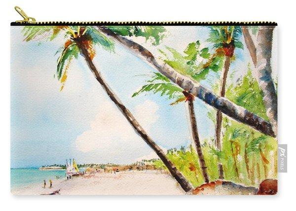 Bavaro Tropical Sandy Beach Carry-all Pouch
