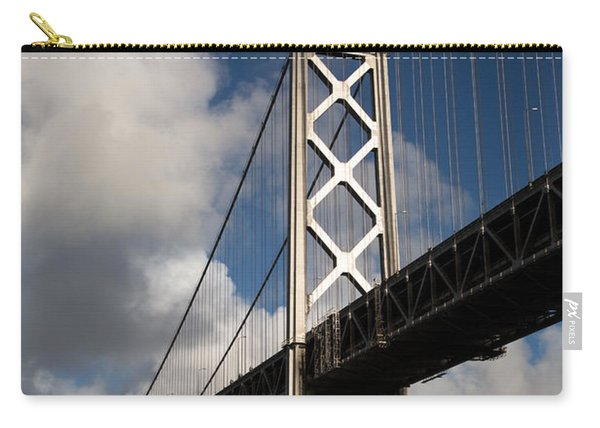 Bay Bridge After The Storm Carry-all Pouch