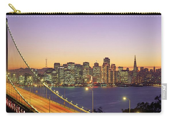 Bay Bridge At Night, San Francisco Carry-all Pouch