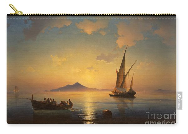 Bay Of Naples Carry-all Pouch
