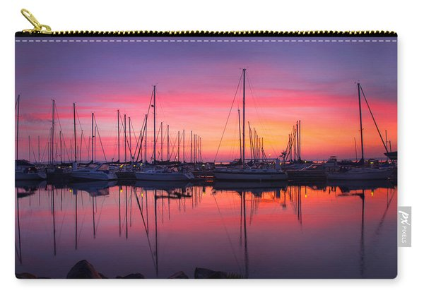 Bayfield Wisconsin Magical Morning Sunrise Carry-all Pouch