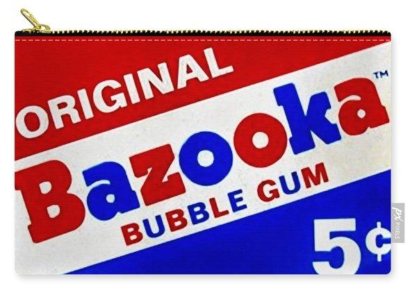 Bazooka Bubble Gum  Carry-all Pouch