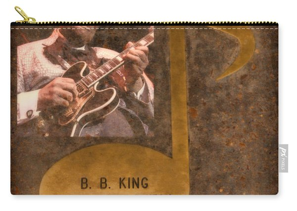 Bb King Note Carry-all Pouch