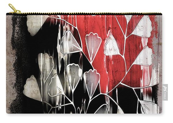 Be-leaf - Red Black A05bt3a Carry-all Pouch