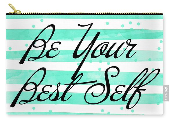 Be Your Best Self Carry-all Pouch