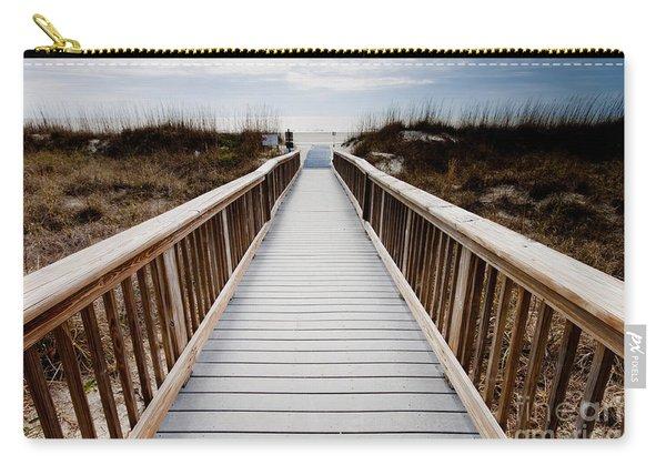 Beach Access Hilton Head Carry-all Pouch