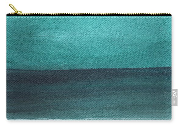 Beach Morning- Abstract Landscape Carry-all Pouch