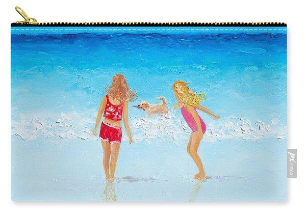 Beach Painting Beach Play Carry-all Pouch