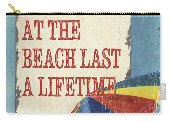 Beach Time 3 Carry-all Pouch
