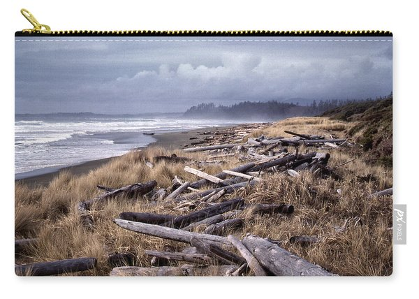 Beached Driftlogs Carry-all Pouch