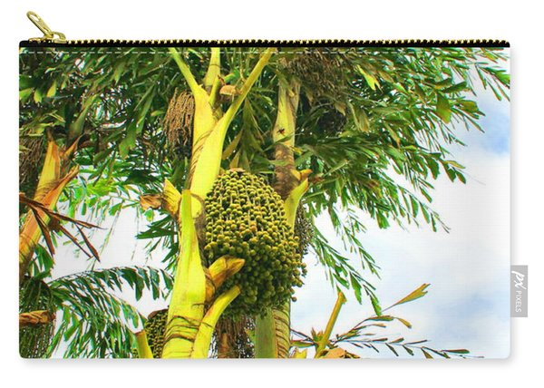 Beaded Palm Carry-all Pouch