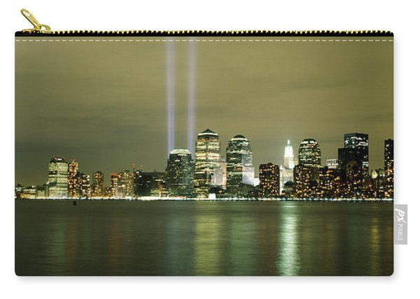 Beams Of Light, New York, New York Carry-all Pouch