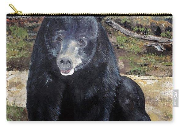 Bear - Wildlife Art - Ursus Americanus Carry-all Pouch