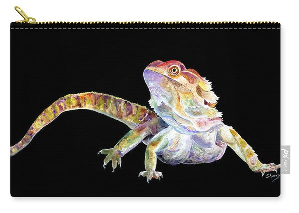 Bearded Dragon Carry-all Pouch
