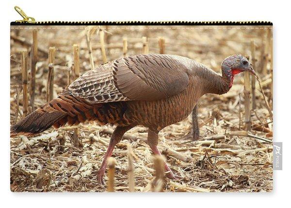 Bearded Wild Turkey Hen Carry-all Pouch